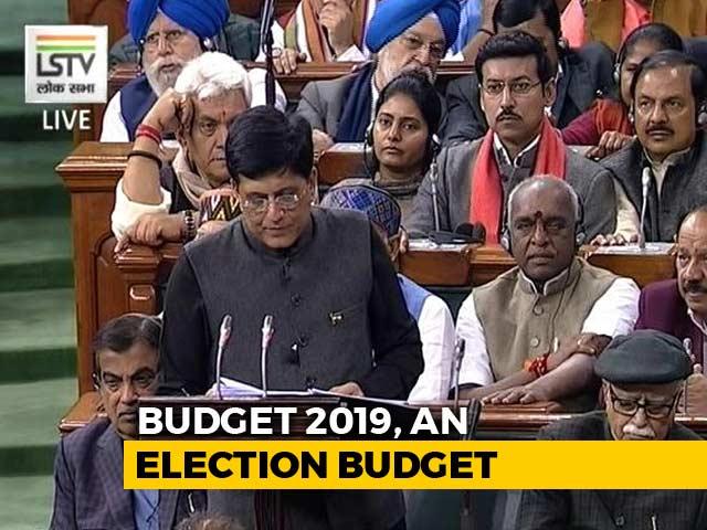 "Video : ""Broke Back Of Back-Breaking Inflation"": Piyush Goyal In Interim Budget"