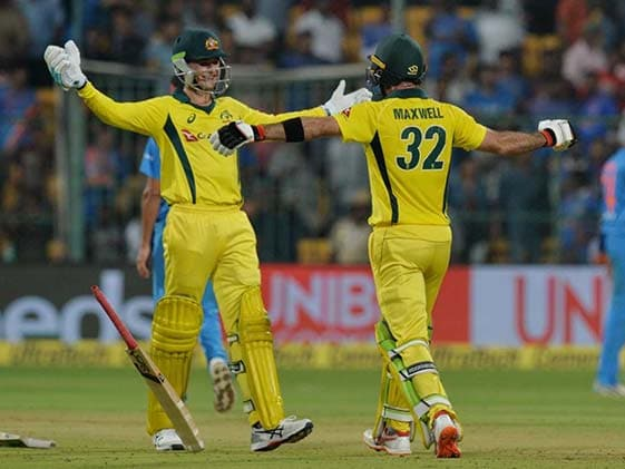 India vs Australia 2nd T20: मैक्सवेल की एक तरफा पारी से आस्ट्रेलिया ने 2-0 से जीती टी20 सीरीज