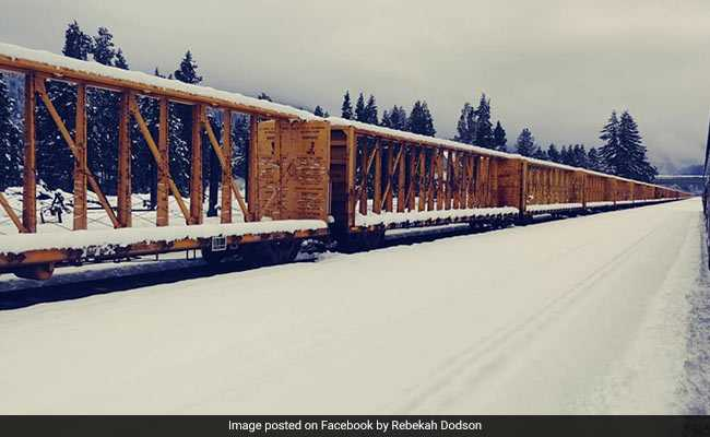 Passengers On Board Train In US Spent Nearly 2 Days Stuck In Snow