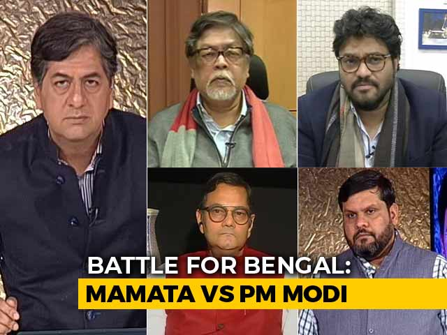 Video : The Big Fight: Can The BJP Do A Tripura In Bengal?