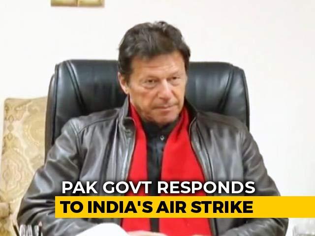 "Video : Prep ""For All Eventualities"": Imran Khan To Pak As India Hits Jaish Camp"