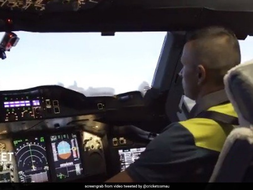 Watch: Australian Cricket Star Puts Flying Skills To Test, Takes Control Of World