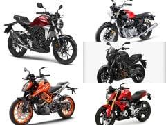 Honda CB300R vs KTM 390 Duke vs BMW G 310 R vs Bajaj Dominar vs Royal Enfield Interceptor 650: Price Comparison