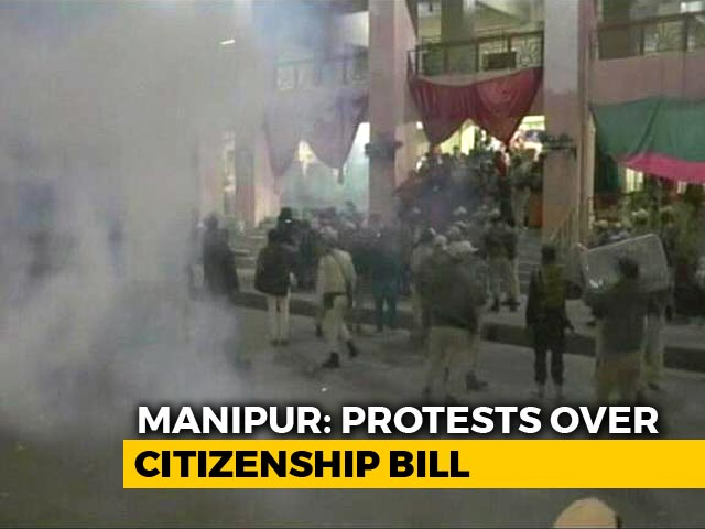 Video : 6 Women Injured In Police Action Over Citizenship Bill Protest In Imphal