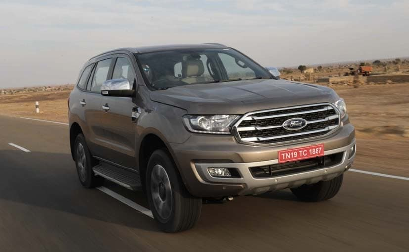 The Ford Endeavour Facelift will be launched on February 22