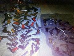 मध्यप्रदेश से हथियारों की दिल्ली में सप्लाई, 107 पिस्टल बरामद