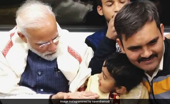 PM Modi Shares Video With His 'Adorable Young Friend'. Watch Here