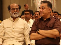 """After Oiling Body..."": Kamal Haasan On Rajinikanth Skipping 2019 Race"