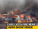 Video : 300 Vehicles On Fire Near Bengaluru Air Show, Cigarette Could Be Cause
