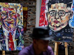 Vietnam Artist Paints Trump, Kim For 'Peace' Ahead Of Summit