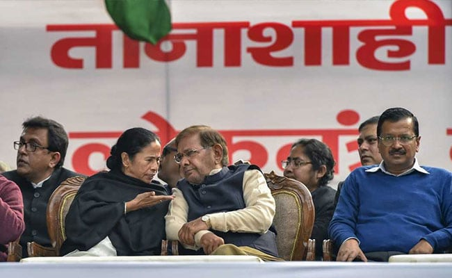 Opposition Hiccups On Display At 'Mahagathbandhan 2.0' Rally In Delhi