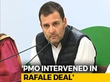 "Video : Rahul Gandhi On Rafale Deal: ""Clear that PM Modi Carried Out Parallel Negotiations"""