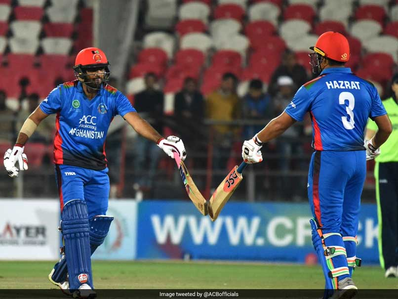 Records galore for Afghanistan as Hazratullah Zazai and Rashid Khan thump Ireland
