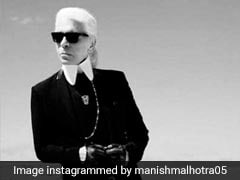 Designer Karl Lagerfeld Dies. Sushmita Sen, Neha Dhupia, Manish Malhotra And Others Post Tributes