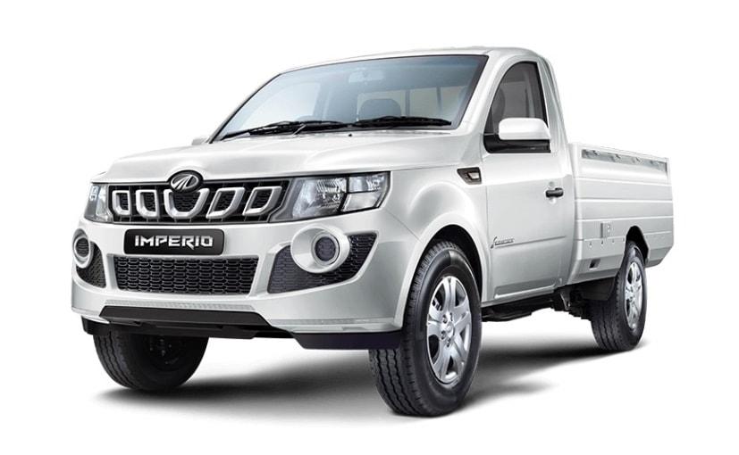 Mahinda Imperio Recalled To Fix Faulty Rear Axle - NDTV