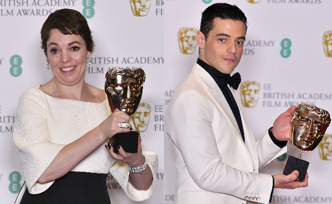 BAFTA 2019: Roma, Olivia Colman And Rami Malek Win Big