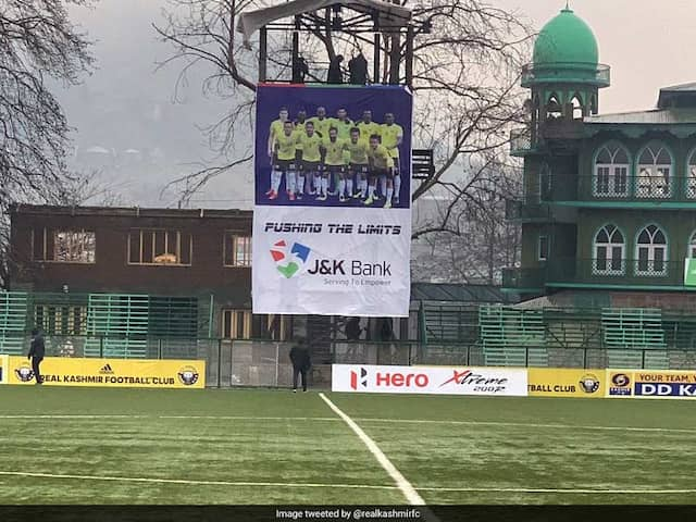 I-League Chief Says Srinagar To Remain Venue For Minerva Punjab vs Real Kashmir Match