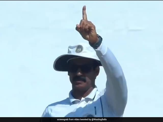 Watch: Umpires Delayed Decision Bemuses Vidarbha Captain Faiz Fazal