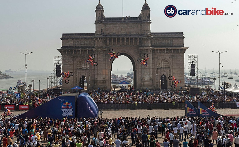 The Red Bull FMX Jam made its way to Mumbai for a spectacular show