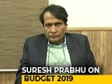 Video : Income Tax Burden On Middle Class To Reduce Significantly: Suresh Prabhu