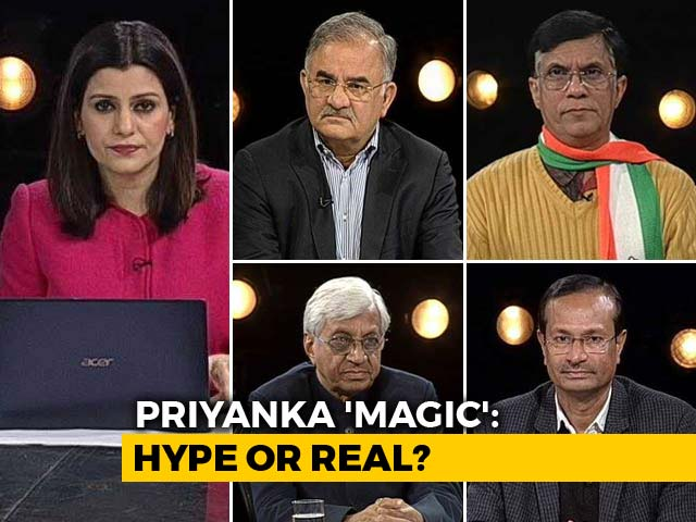 Video : Priyanka Gandhi's Big UP Debut: Is She A Game Changer For The Congress?
