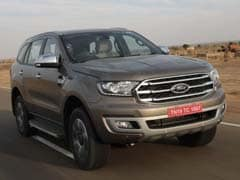 Ford India Reveals The Endeavour Facelift