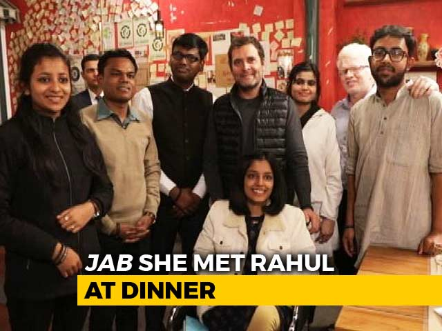 Video : 20-Year-Old Shares What Rahul Gandhi Said Over Dinner With Students