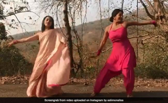 भोजपुरी एक्ट्रेस मोनालिसा ने 'मूंगड़ा' सॉन्ग पर डांस से बरपाया कहर, झट से वायरल हो गया Video