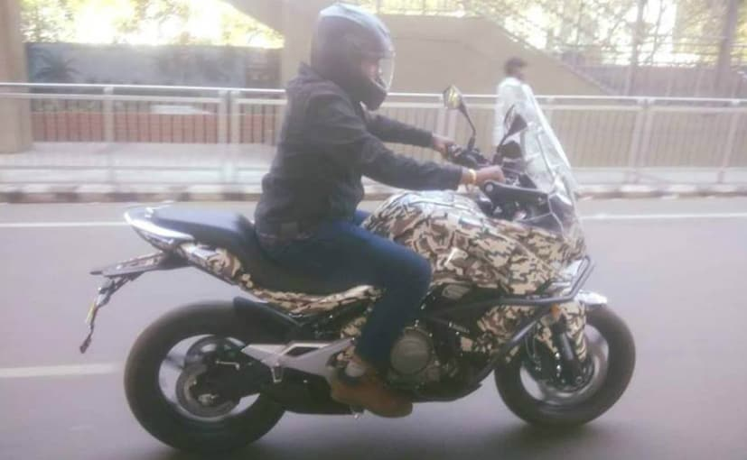 Cfmoto 650 Mt Spotted With Camouflage In India Ndtv Carandbike