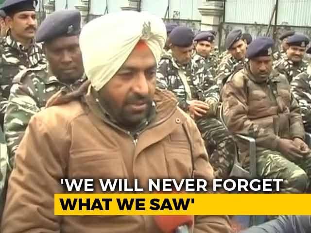 Video : Body Parts Were Flung 600 Metres Away, Recalls CRPF Convoy Survivor