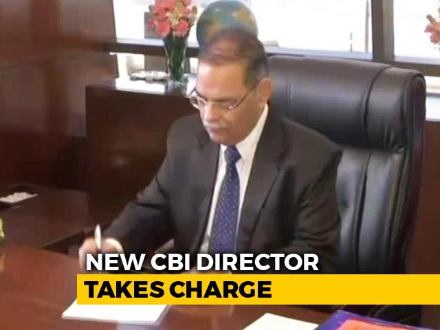 Video : New CBI Chief Rishi Kumar Shukla Takes Charge