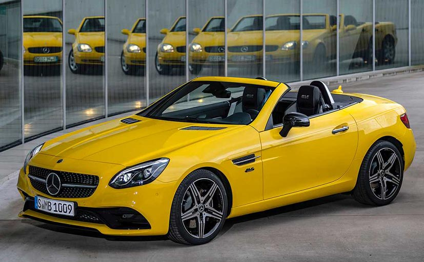 Geneva 2019: Mercedes-Benz SLC Final Edition Revealed