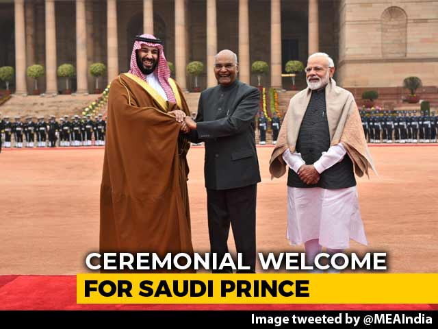 Video : PM Modi, Saudi Crown Prince Talks Today In Shadow Of Pulwama Terror