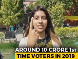 Video : Lok Sabha Elections: What First Time Voters Think