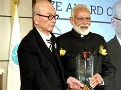 पीएम मोदी को मिला 'सियोल शांति पुरस्कार', राशि नमामि गंगे प्रोजेक्ट को समर्पित की