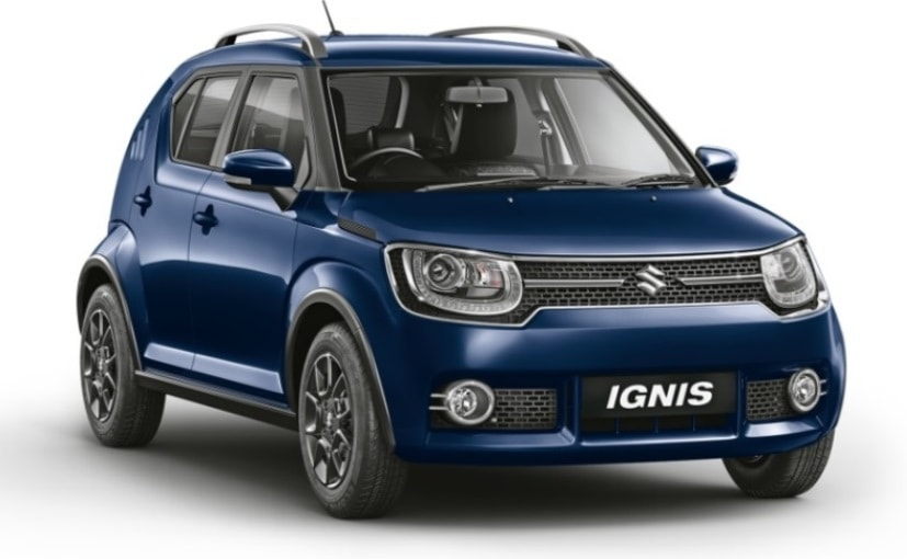 2019 Maruti Suzuki Ignis comes with roof rails for the first time, along with improved safety features
