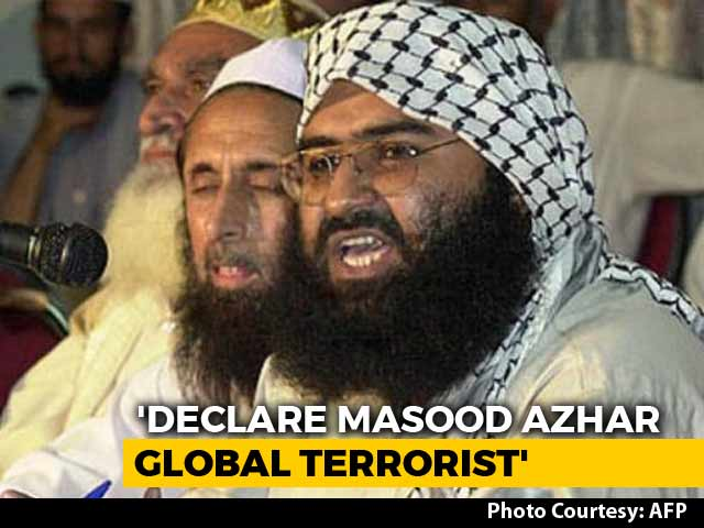 Video : US, Britain, France Move UNSC To Ban Masood Azhar. Over To China