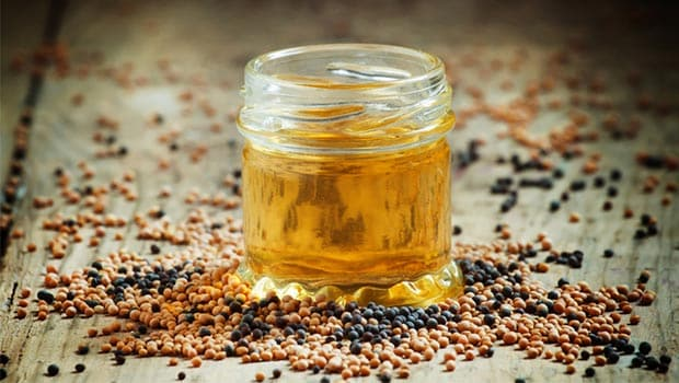 Mustard Oil Is A Great Cure For Dry Hair
