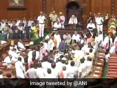 Missing Congress Lawmakers In Focus Amid Chaos In Karnataka Assembly