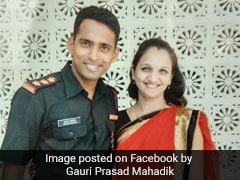 Wife Of Major Killed In Fire Set To Join Army. It's Her Tribute