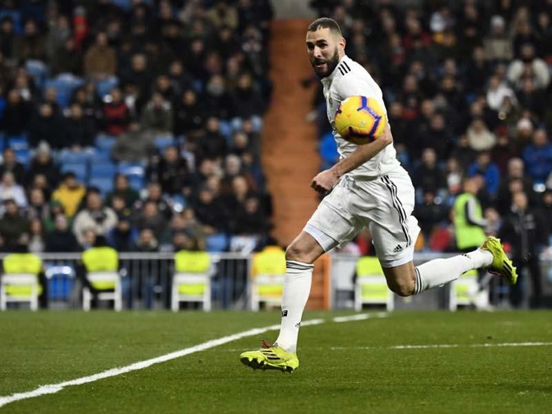 La Liga: Karim Benzema On Target Again As Real Madrid Close Gap At The Top