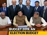 Video : Budget 2019: In Piyush Goyal's Briefcase, Farm Loan Waiver, Friendly Tax Rules Likely