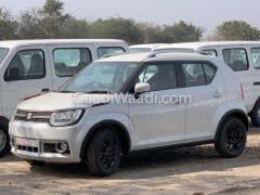 Updated 2019 Maruti Suzuki Ignis Spotted At Dealership Yard