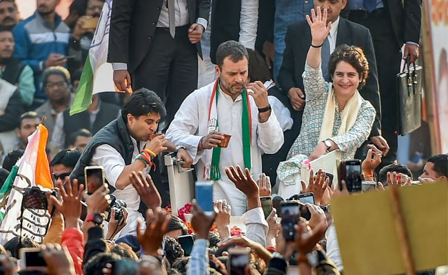 Congress To Play On 'Front Foot' In UP: Rahul Gandhi During Mega Roadshow