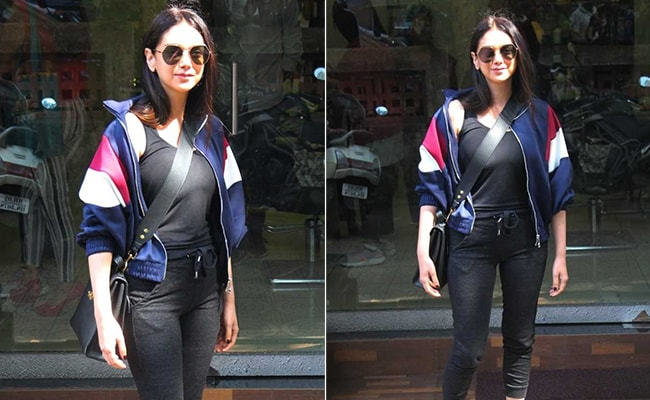 Get The Look: Aditi Rao Hydari in A Stylishly Sporty Outfit