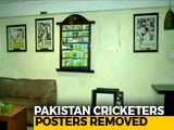 Video : Photographs Of Pakistani Cricketers Removed From Mohali Stadium