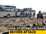 Video : Vehicle Used In Pulwama Attack Was Mini-Van, Owner On The Run