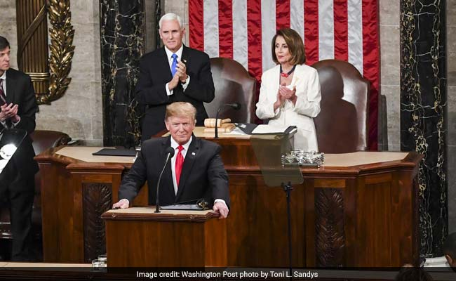 Trump Uses State Of The Union To Defiantly Defend Immigration Agenda