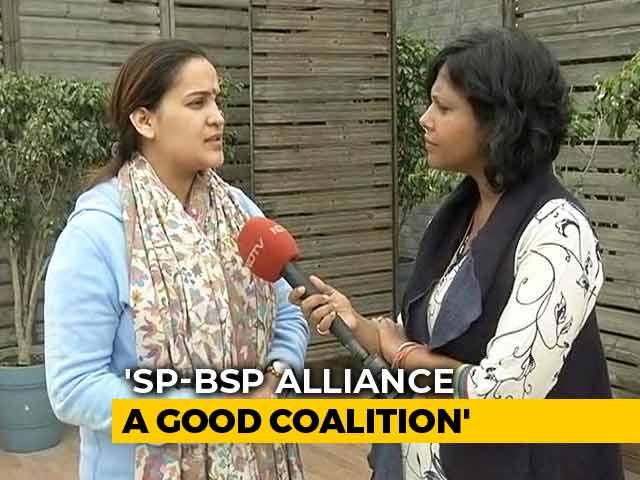 Video : What Aparna Yadav, Mulayam Singh's <i>Bahu</i>, Thinks Of Akhilesh Yadav-Mayawati Alliance