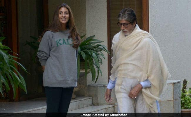 Amitabh Bachchan Thrilled That Daughter Shweta Is On The Bestseller Lists
